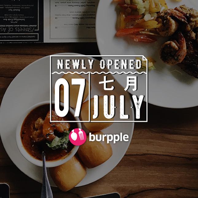 New Restaurants, Cafés And Bars in KL: July 2016