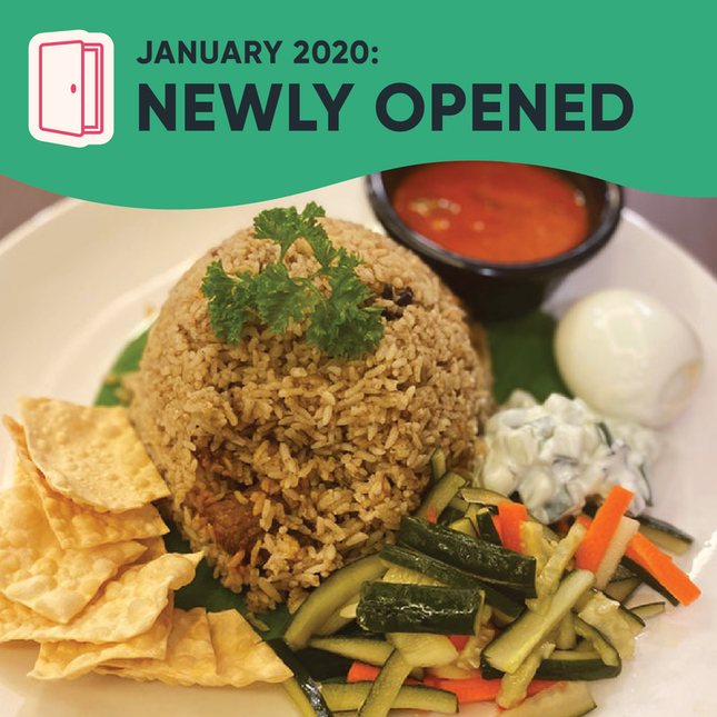New Restaurants, Cafes and Bars in Kuala Lumpur: January 2020
