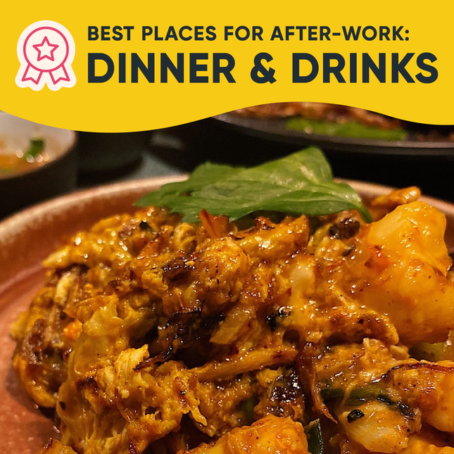 Best Places for After-Work Dinner and Drinks