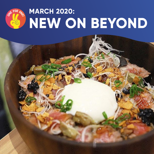 New on Beyond: March 2020