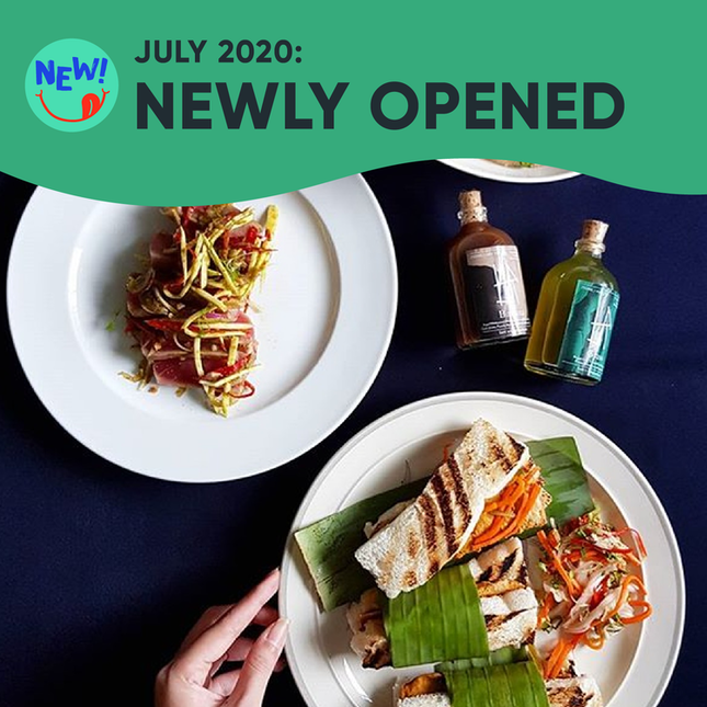 New Restaurants, Cafes & Bars in Singapore: July 2020