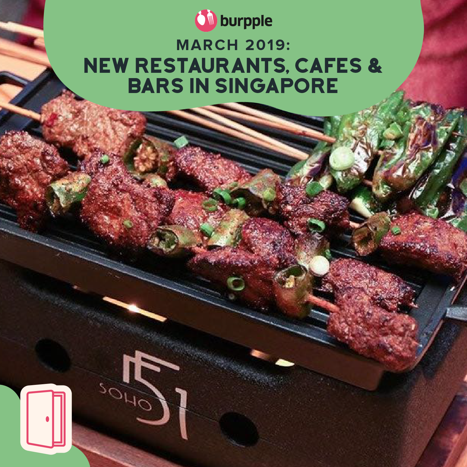 New Restaurants, Cafes & Bars in Singapore: March 2019