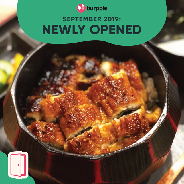 New Restaurants, Cafes & Bars in Singapore: September 2019