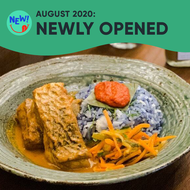 New Restaurants, Cafes & Bars in Singapore: August 2020