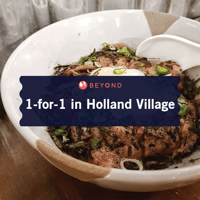 1-for-1 in Holland Village