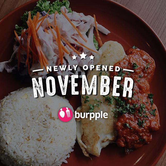 New Restaurants, Cafés And Bars in KL: November 2016