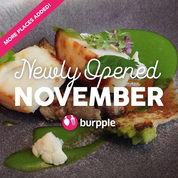 New Restaurants, Cafes And Bars: November 2015