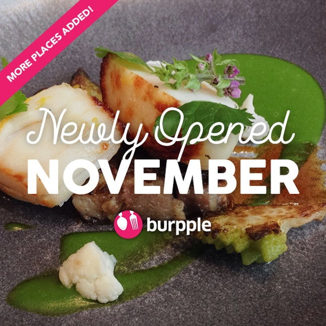 New Restaurants, Cafes And Bars: November 2015