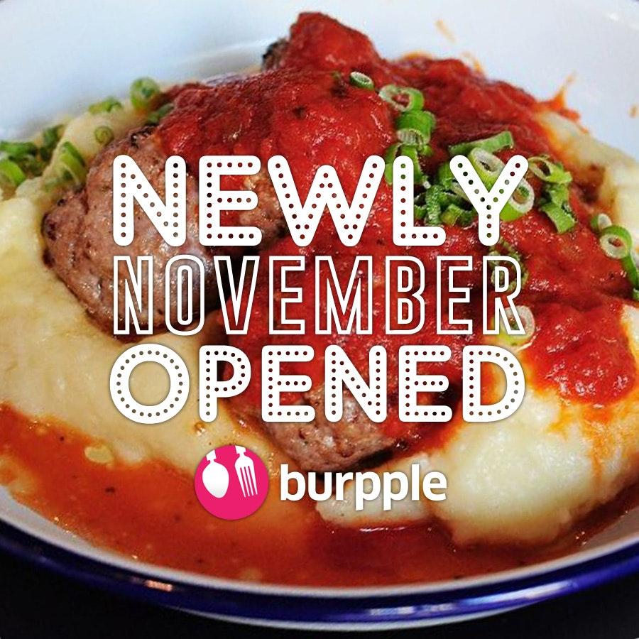 New Restaurants, Cafes And Bars: November 2014