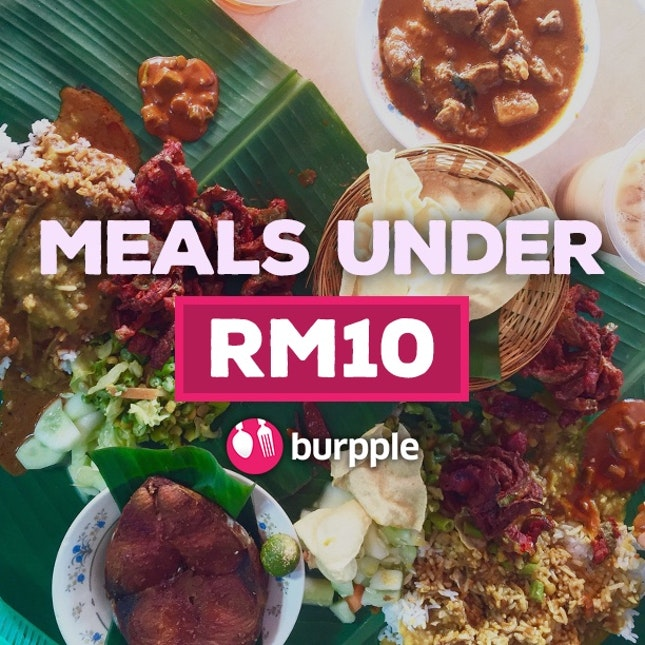 Meals Under RM 10