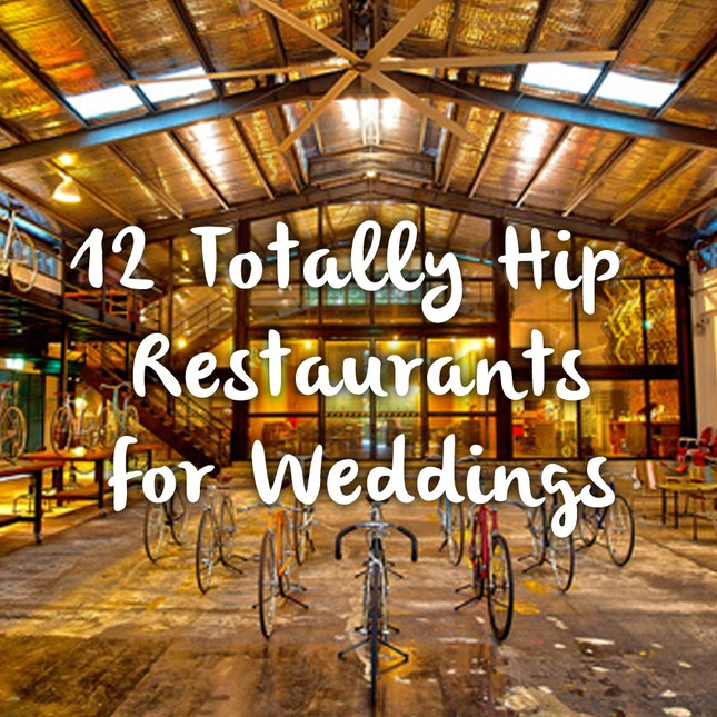 12 Totally Hip Restaurants For Singapore Weddings