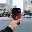 Hollys Coffee @ Chungmuro