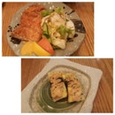 All time Favourite😚 #instadaily #instagood #instafood #foodporn #foodies #foodstagram #sushi #japanesecuisine #boyfie #dating #tamago #katsu #friedchicken #shapilapfish #cindyhasdinner