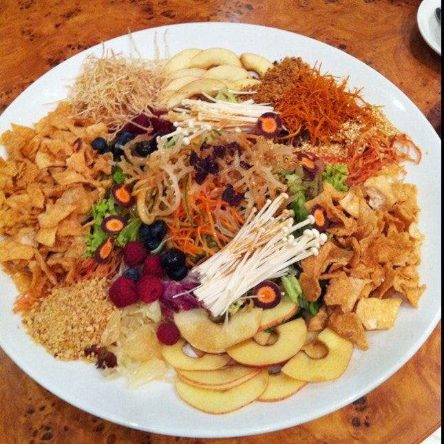 Healthy And Tasty Vegetarian Yu Sheng