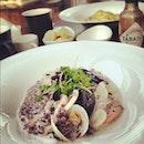 white seafood risotto #foodporn #risotto #itaewon #seoul #food #italian #seafood