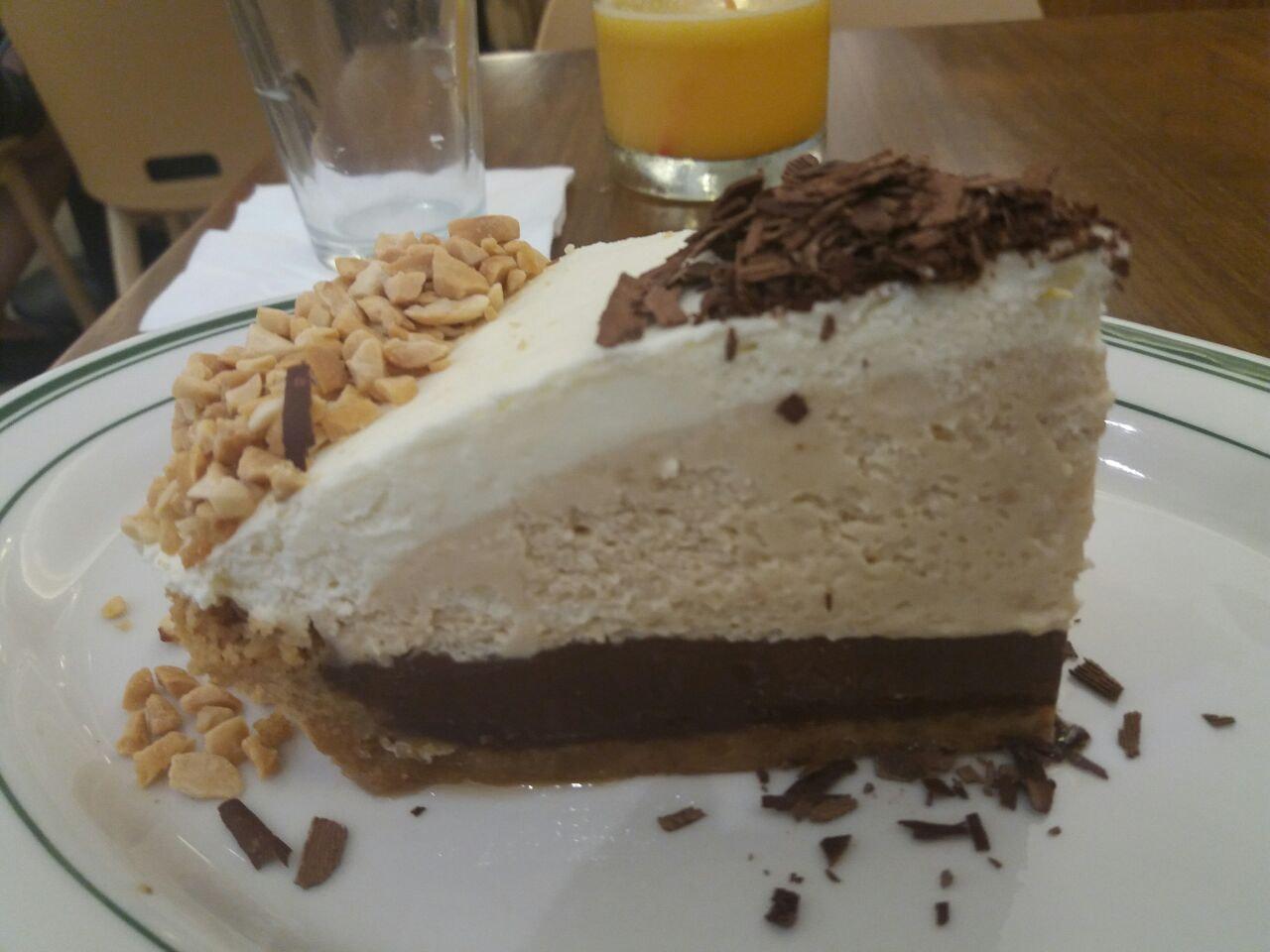 Peanut Butter Ice Box Pie