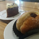 Raspberry Donut ($4) & Carrot Cale ($5.8)
