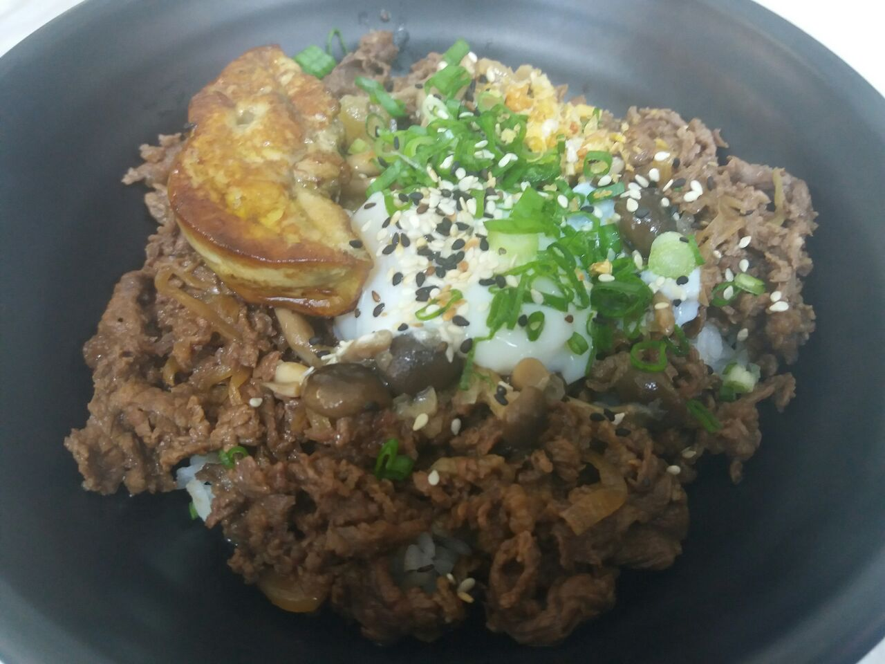 Gyudon With Foie Gras