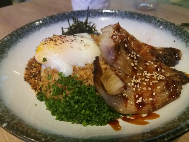 Grilled Jowl Fried Rice ($18)