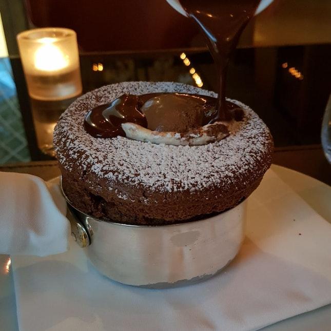 Varlhona Chocolate Souffle