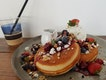Ricotta Pancakes ($18)