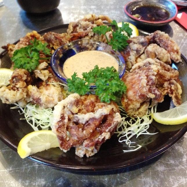 Soft Shell Crab Platter