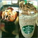 Tea time (: #starbucks #evening #tea #time #awesome #tagsforlike #chill #friends #history #iphone #memories #followme #fotorus #sunway_pyramid #banana #chocolate #smoke #swag