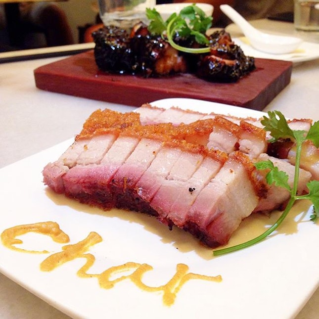 Roast Crispy Pork Belly