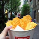 Typhoon Shelter Spicy Potato Chips + Soft Ice Cream