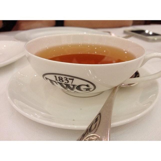 一杯老耳 一颗温暖的心 #twg #earlgrey #tea