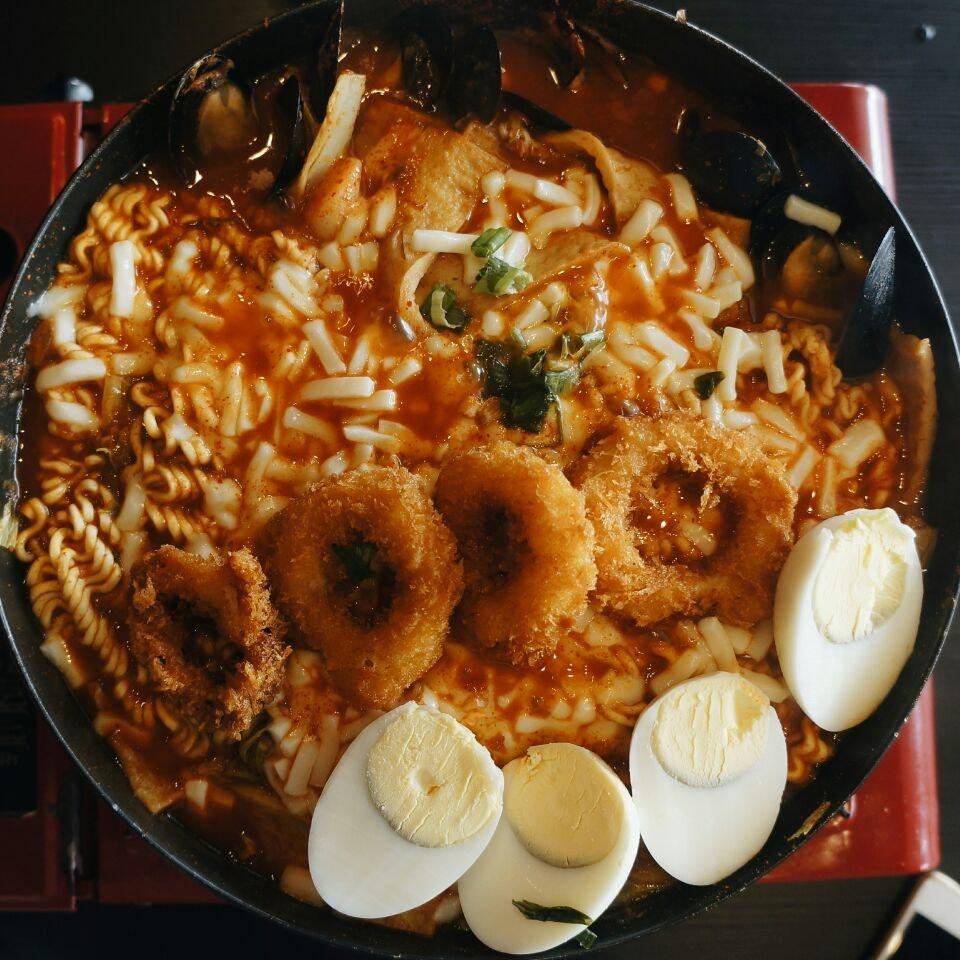 tteokbokki stew from Seoul!!