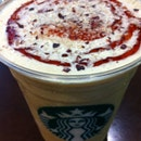 Cranberry White Choc Mocha