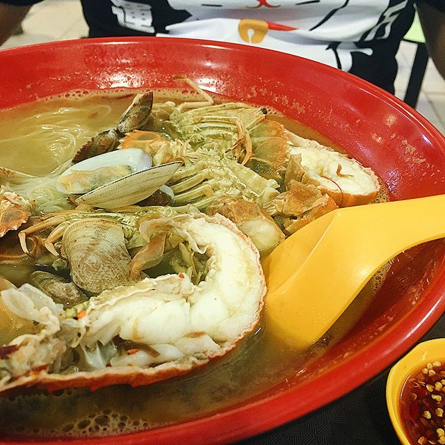 Stumbled upon the famous Sumo Big Prawn Noodle!!!