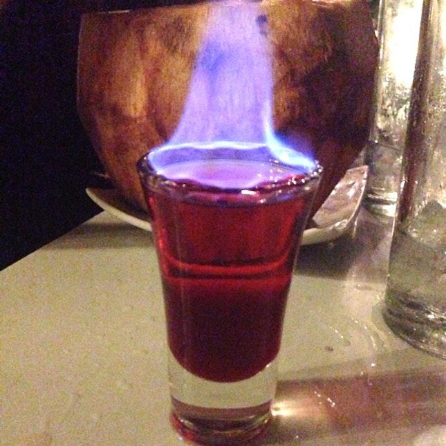 Flaming Ferrari By Nikki Ashley Papas Burpple