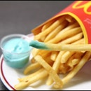 Mcdonalds Fries with Berry Mayo