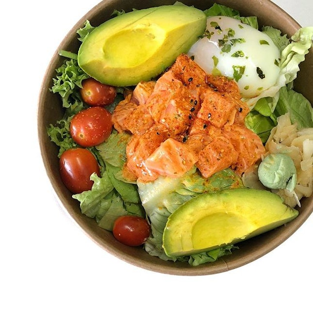 Spicy Salmon Bowl ($9.90).