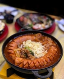 Hungry and craving for Budaejjigae ($17.90).