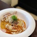 Chilli Soft-Shell Crab Pasta ($20.80); @dtccsg's rendition of Singapore's national dish just in time for National Day.