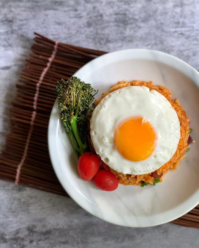 """Kimchi Fried """"Rice"""" inspired by @lennardy!"""