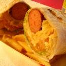 Bratwurst Wrap