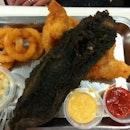 Ying Yang Fish And Chips