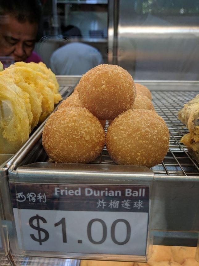 Fried Durian Ball