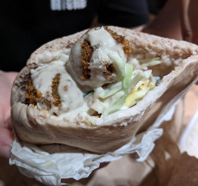 Filled Pita Bread ($8)