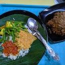 Chicken Rendang Nasi Padang