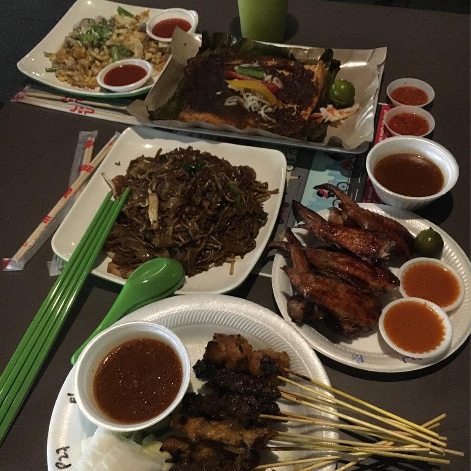 Singaporean Hawker Food