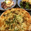 Unagi Pizza, Wagyu Beef Don, Chicken Parmigiana