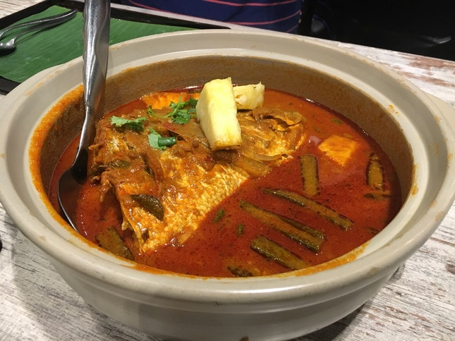 Signature Curry Fish Head