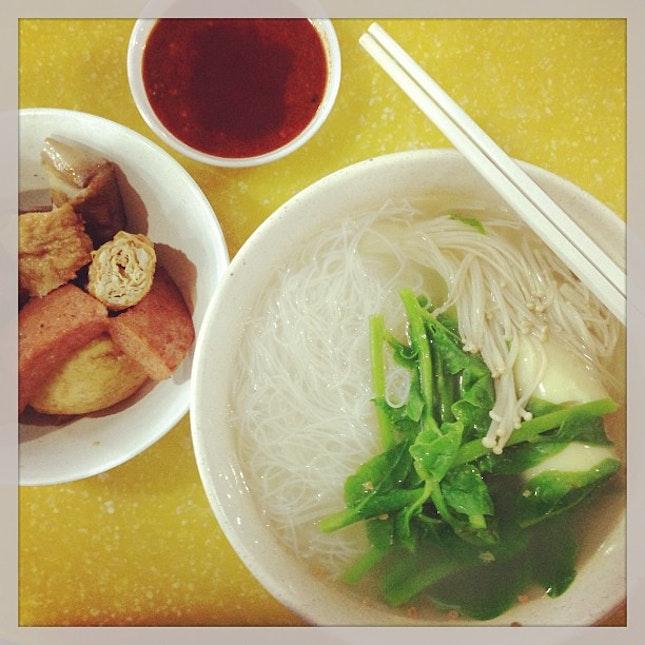 #sgig #sgfood #sgfoodies #notatouristsg best yong tau foo ever.