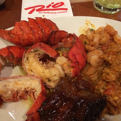 Brilliant Rio Hotel Village Seafood Buffet Burpple 3 Reviews Home Interior And Landscaping Ologienasavecom