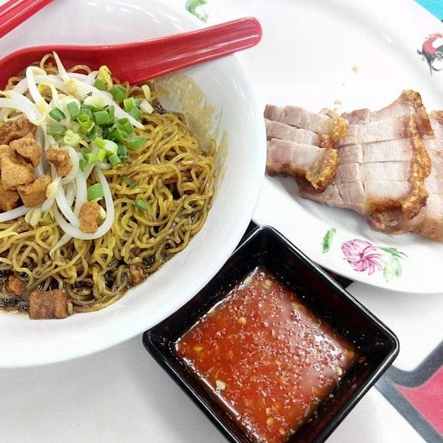 Roasted Pork & Noodles
